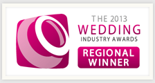 Winner at The 2013 Wedding Industry Awards